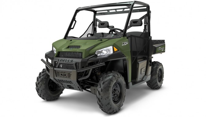 2017 Polaris Ranger XP 1000 Green