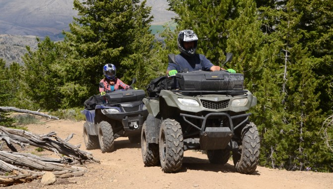 Rally in the Pines ATV Riders