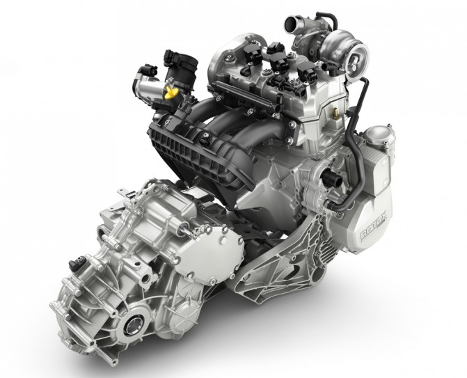 2017 Can-Am Maverick X3 Engine