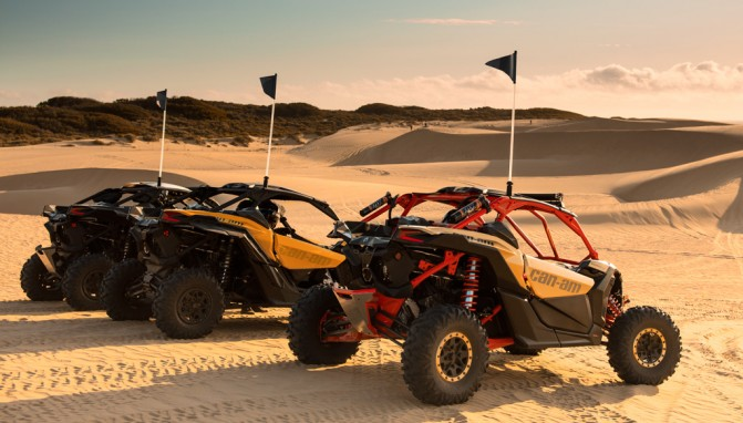 2017 Can-Am Maverick X3 Family