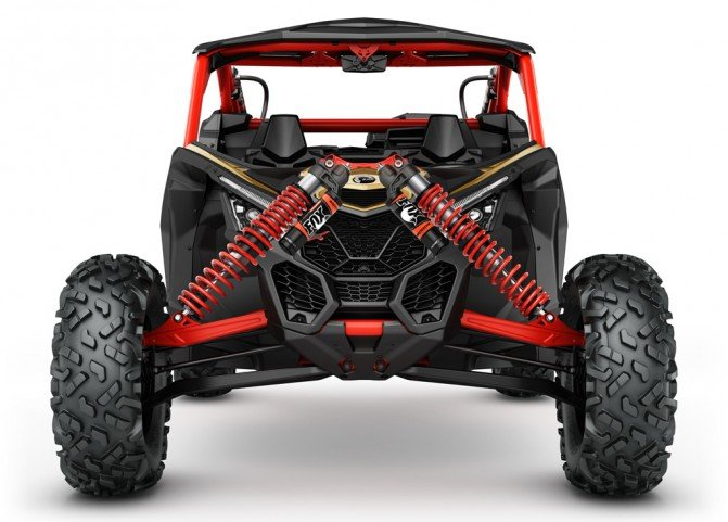 2017 Can-Am Maverick X3 Front Suspension