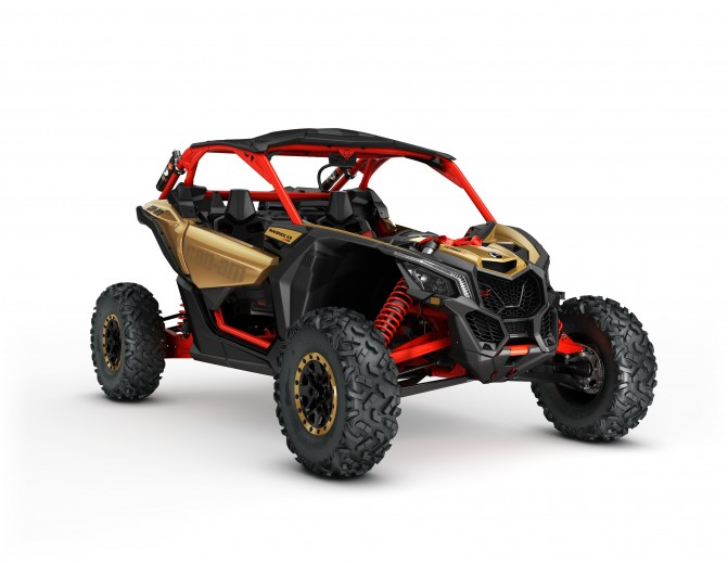 2017 Can-Am Maverick X3 X rs Gold