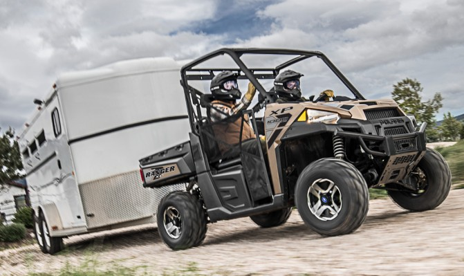 Polaris Ranger XP 1000 Towing