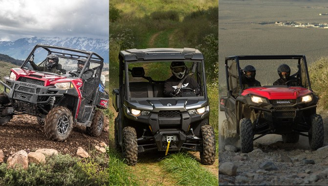Ranger XP 1000 vs  Can-Am Defender vs  Honda Pioneer
