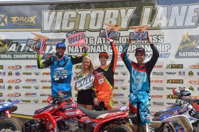 RedBud MX Podium