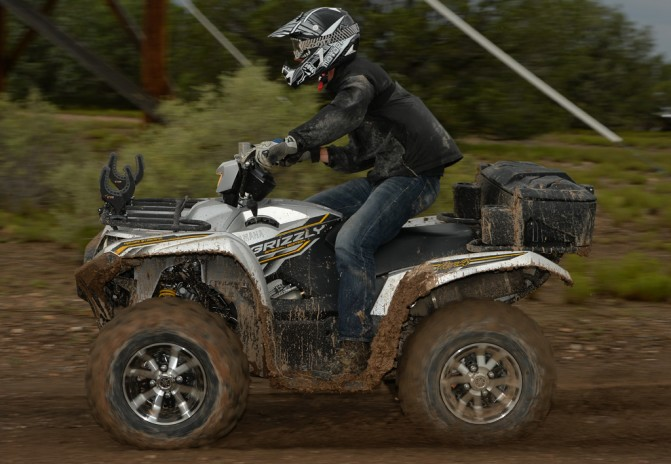 Yamaha Grizzly Action