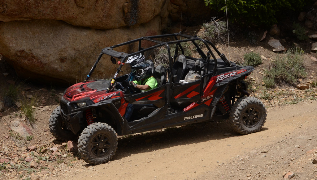 2016 Polaris RZR XP 4 Turbo Passengers