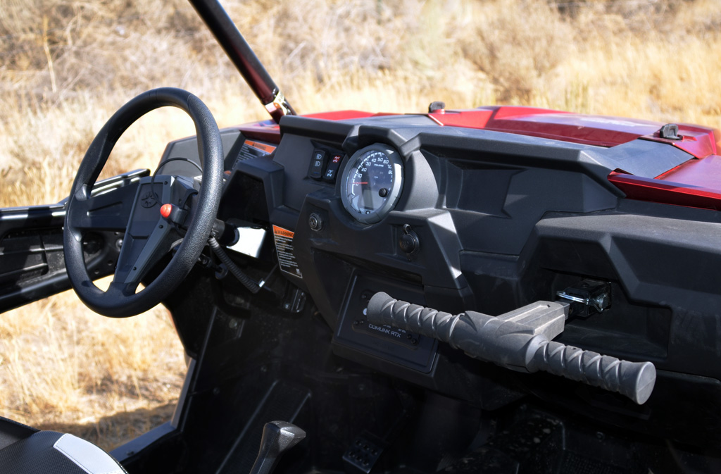 2016 Polaris RZR XP 4 Turbo Cockpit