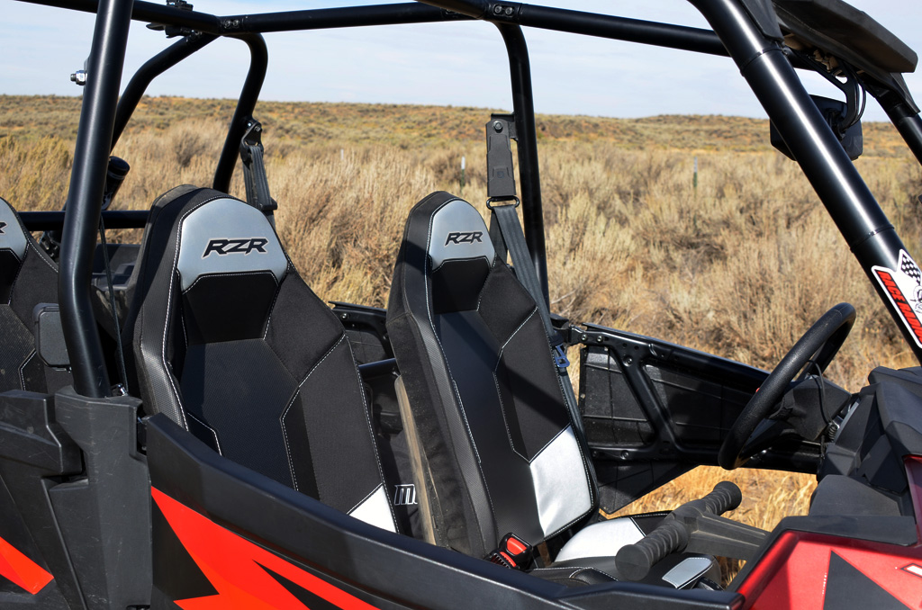 2016 Polaris RZR XP 4 Turbo Seats