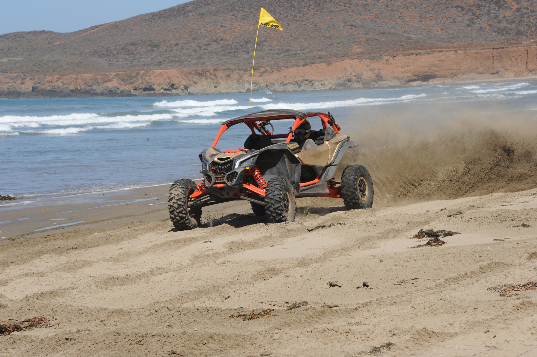 2017 Can-Am Maverick X3 X rs Turbo Action Ocean