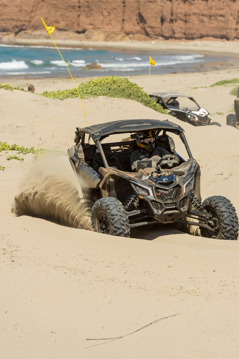 2017 Can-Am Maverick X3 X rs Turbo Kicking Sand