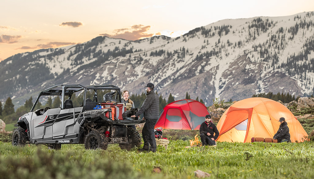 2017 Polaris General 4 Camping