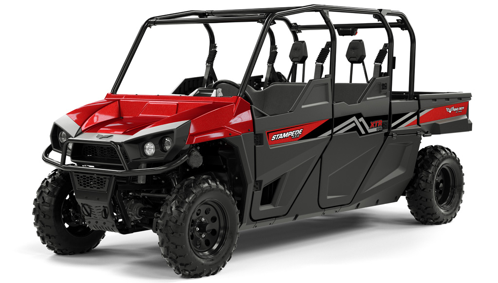 Bad Boy Stampede XTR Red