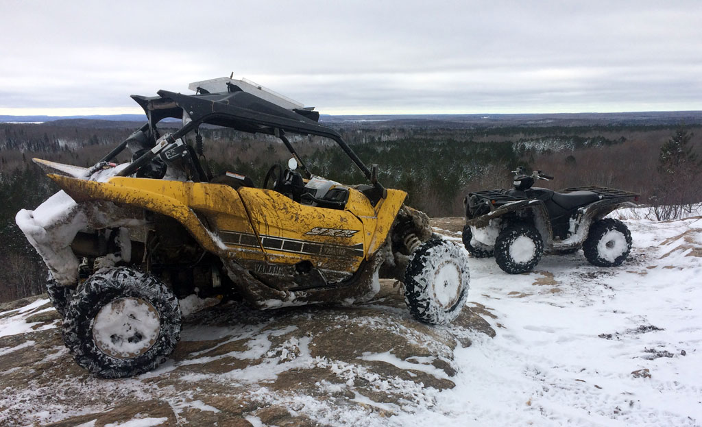 Ontario ATV Trails View