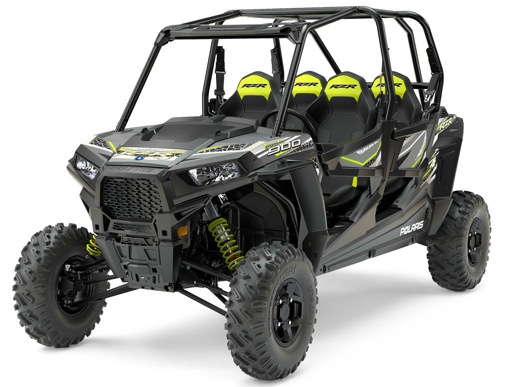 2017 Polaris RZR 4 900 EPS Titanium Metallic