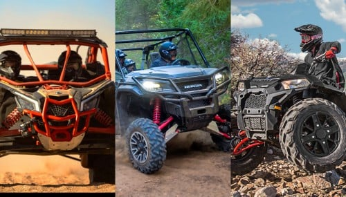 Best ATVs and UTVs of 2016
