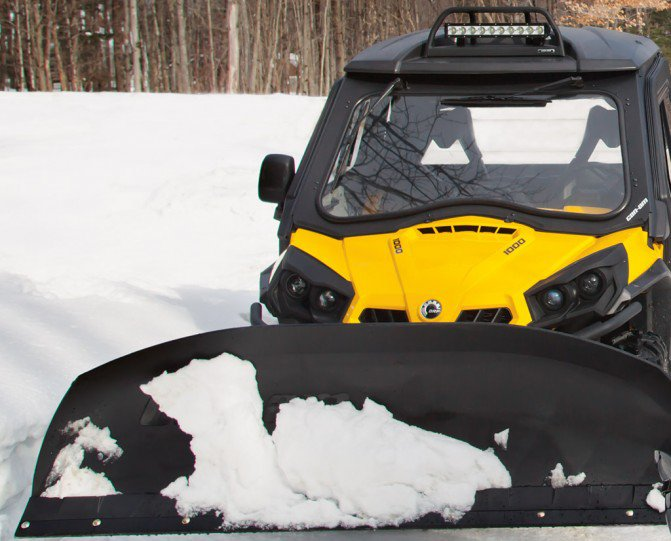 Can-Am Maverick Plow