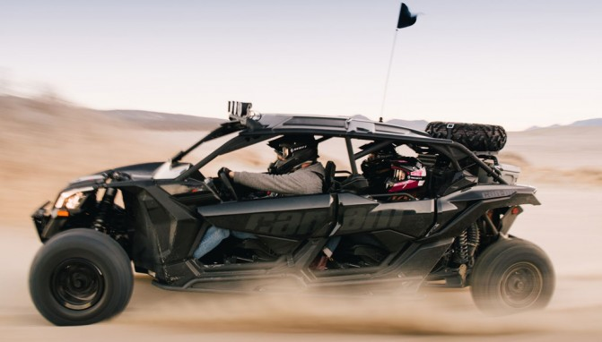 Brp Unveils Four Passenger Can Am Maverick X3 Max Atv Com