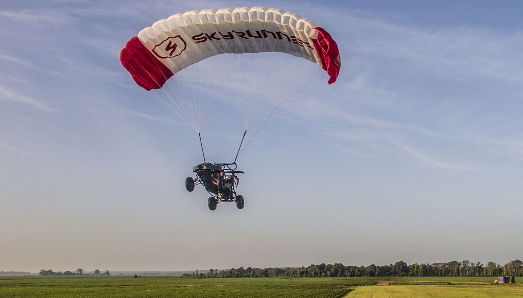 SkyRunner Flying Take Off