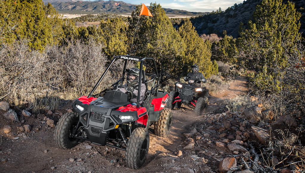 2017 Polaris ACE 150 Action Front