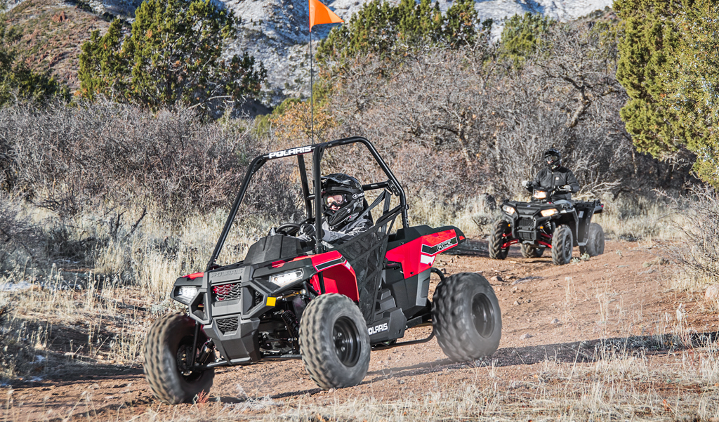 2017 Polaris ACE 150 Action Mountains