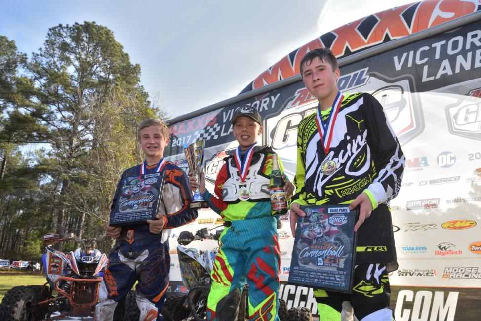 Cannonball GNCC Youth Podium