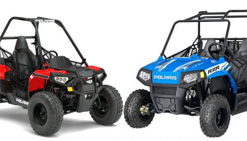 2017 Polaris ACE 150 EFI vs. Polaris RZR 170