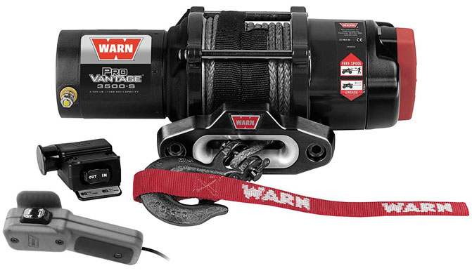 Warn ProVantage Winch with Synthetic Rope