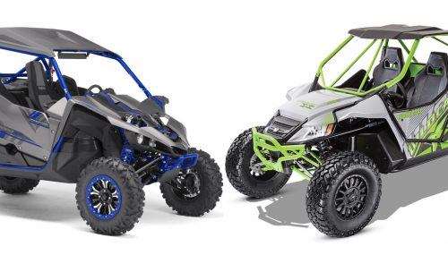 2017 Arctic Cat Wildcat X Limited vs. Yamaha YXZ1000R SS SE