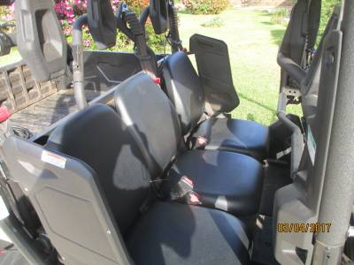 Yamaha Viking VI Seats