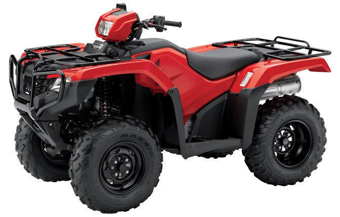 Honda Foreman Studio Red