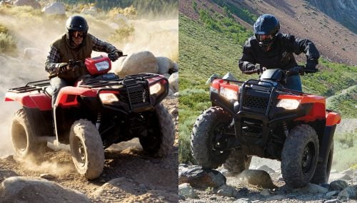 2017 Honda Foreman 4×4 vs. Honda Rancher 4×4: By the Numbers