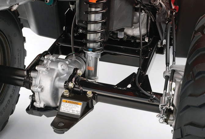 Honda Rancher Swingarm Suspension