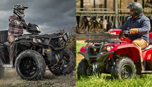 2017 Yamaha Kodiak EPS vs Polaris Sportsman 570 SP: By the Numbers