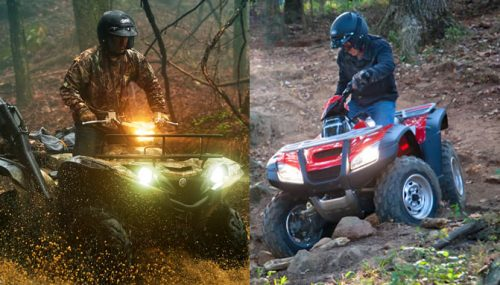2017 Honda Rincon vs. Yamaha Grizzly EPS: By the Numbers