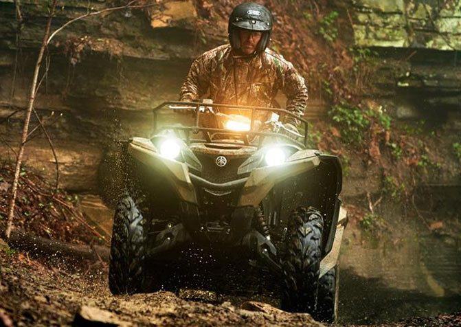 2017 Yamaha Grizzly EPS Front