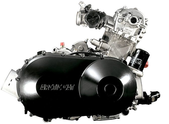 Arctic Cat HDX Engine