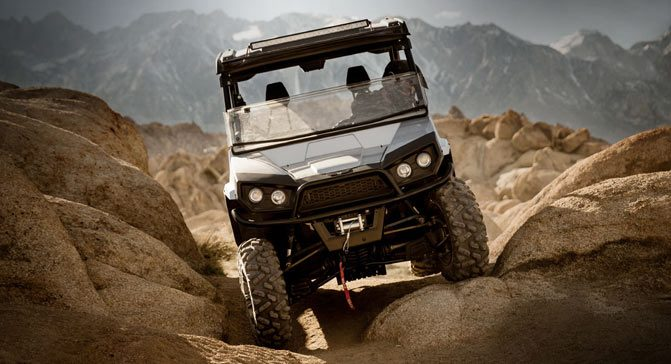 Textron Stampede Action