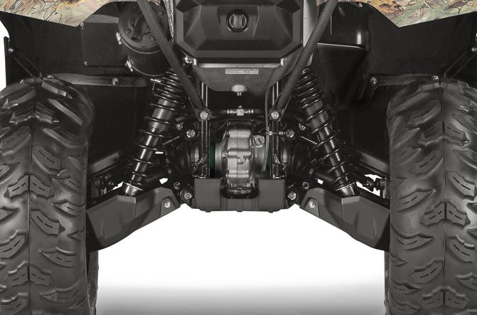 2017 Yamaha Grizzly EPS Suspension