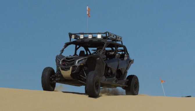 2017 Can-Am Maverick X3 MAX Cresting Hill