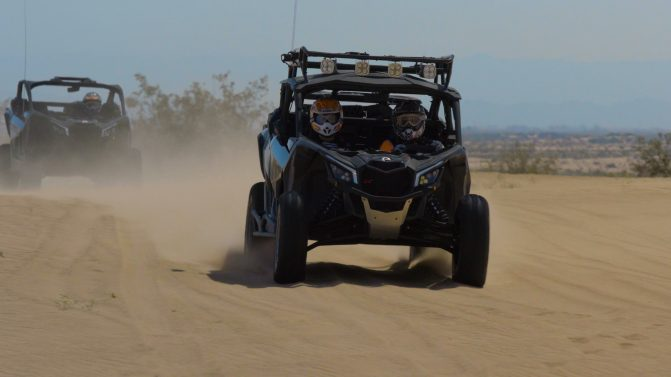2017 Can-Am Maverick X3 MAX Front