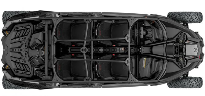 2017 Can-Am Maverick X3 MAX-Seats