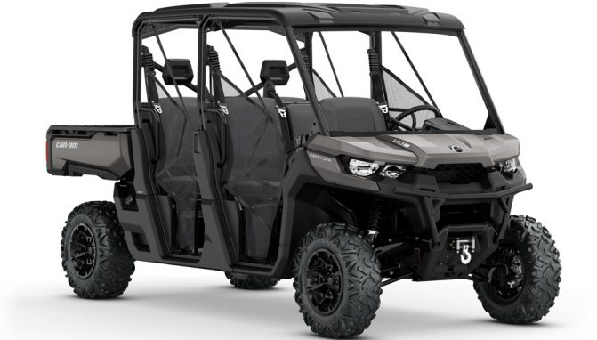 2018 Can-Am Defender MAX HD8 XT