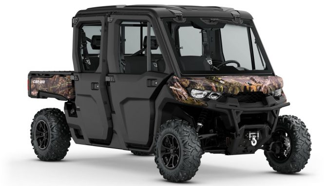 2018 Can-Am Defender MAX XT Cab Mossy Oak Break Up Country Camo