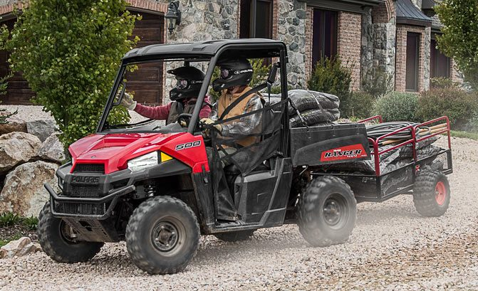 Polaris Ranger 500 Working