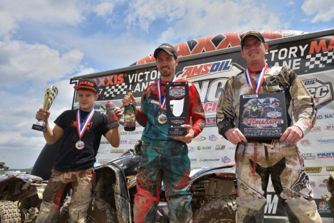 Tomahawk GNCC Morning Podium
