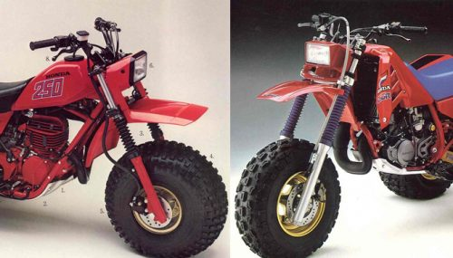 Poll: Do You Prefer the Early or Late Model Honda ATC250R?