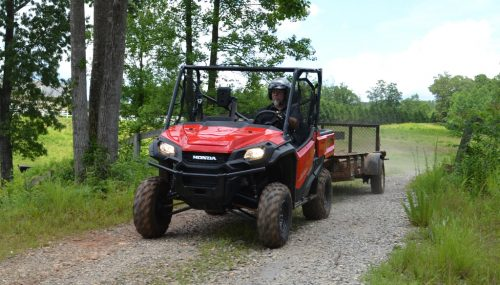 2017 Honda Pioneer 1000 EPS Review + Video