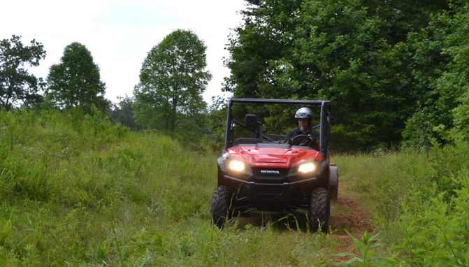 2017 Honda Pioneer 1000 EPS Action Front