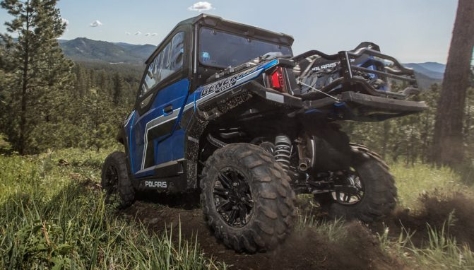 2018 Polaris General 1000 EPS Blue Rear